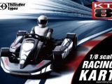 Thunder Tiger KT8 Racing Kart RTR con Radiocomando Digitale 2.4GHz