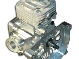 Motore da competizione 30.5cc per automodelli big scale della Turtle Racing e Oneill  Brothers