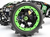 Traxxas E Revo Ken Block Edition: Monster truck elettrico con gomme da neve