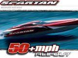 Barca radiocomandata Traxxas Spartan Brushless Race Boat