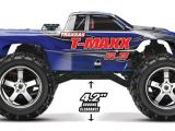 Traxxas T-Maxx 3.3 4WD Monster Truck a scoppio in scala 1:10