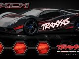 Traxxas XO-1 2014: Super Car RTR in scala 1/7