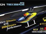 T-Rex 250 DFC PLUS: Elicottero per volo 3D - BizModel
