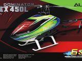 Align T-REX 450L, 500L, 550L e 700L Dominator kit