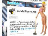 Modellismo su Twitter - Il nuovo canale di microblogging della Hobby Media
