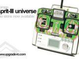 Upgrade RC - KO Propo Esprit III Universe - Adesivi per Radiocomando