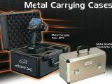 Valigette in metallo per radiocomandi Futaba e 4PX