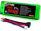 Venom Power - Batterie LiPo 60C Hard Case ROAR