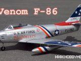 Venom F86 Jet - Aeromodello brushless a ventola intubata