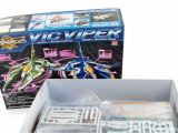 Modellismo statico e videogiochi - Gradius 2 Plastic Model Kit Vic Viper Mika Akitaka Green Color Version