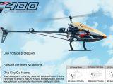Elicottero radiocomandato Walkera G400 GPS - SCORPIO