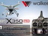 Walkera QR X350 PRO FPV con radio Devo F7, Gimbal G-2D e videocamera ILOOK HD