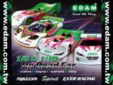 Edam - Nuovo automodello a scoppio 1:10 da pista