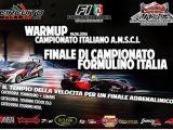 Campionato italiano AMSCI 2016 EP Touring e F1 1/10