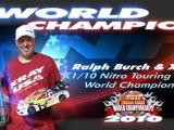 Ralph Burch Xray vince il Campionato del Mondo IFMAR 2010 Sedan 200mm