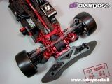 Weld Overdrive shaft drive 4WD Drift car