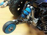 Wheelie bar opzionale della Yeah Racing