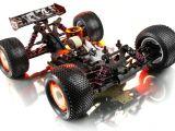 Xray XT9 a scoppio - Truggy scala 1/8 in kit di montaggio