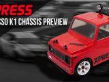 Xpress Xpresso K1: telaio in scala 1/10 classe Kei car