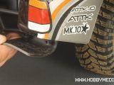 Tecniche di modellismo - Short course truck e paraspruzzi