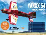 Aeromodello Carbon Z Yak 54 3X BNF della E-flite