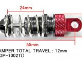 Yeah Racing: Ammortizzatori in alluminio per touring car 1/10