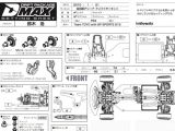RC Drift - Yokomo DMax Drift Package setting sheet
