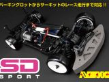 Yokomo SD Sport: Touring Car 4WD in scala 1/10