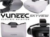 Yuneec Skyview: visore a caschetto FPV per droni
