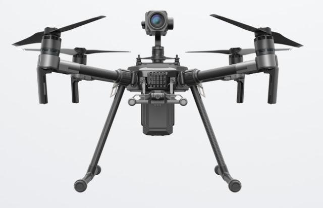 DJI matrice 200 drone industriale