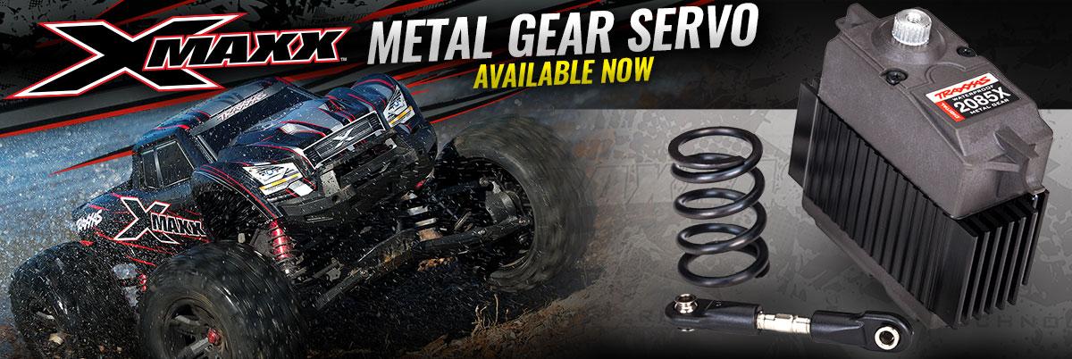 Metal Gear Servo For X-Maxx
