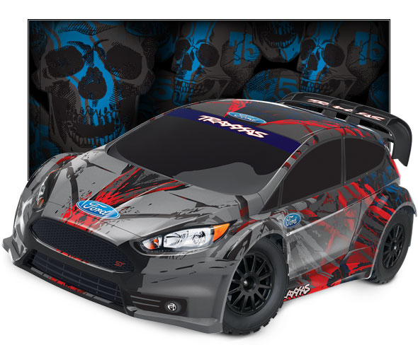 Traxxas Ford Fiesta ST Rally in scala 1/10