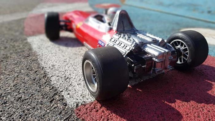 Vintage F1 Fenix Racing: automodello Formula stile anni 60