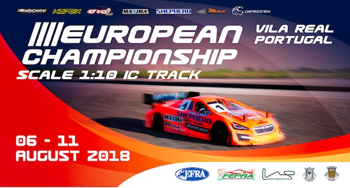 EFRA 1/10th IC Track Euros