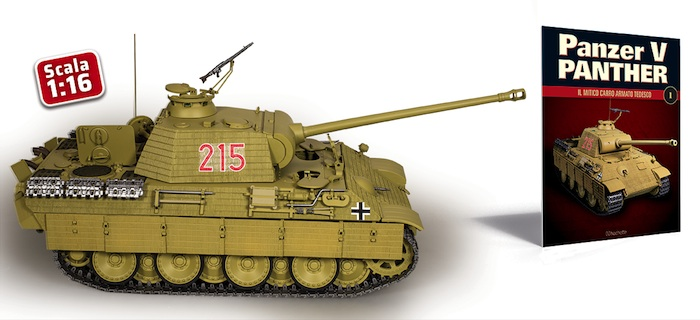 Hachette: Costruisci il leggendario Panzer V Panther