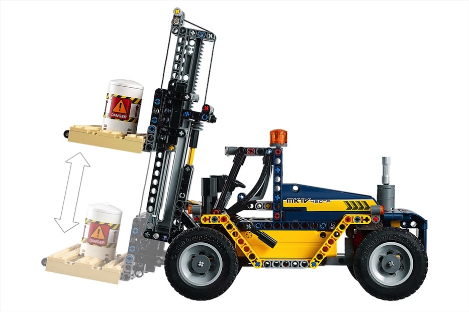 LEGO: Carrello elevatore Heavy Duty - Set Technic 42079