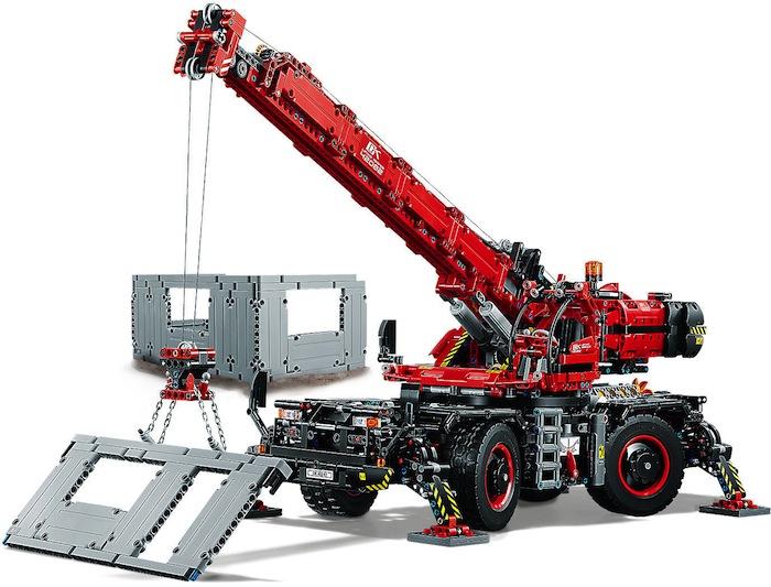 LEGO Technic Grande gru mobile - Crane 42082